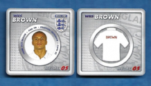 England Wes Brown Manchester United 5 (E)